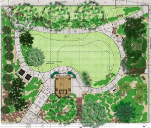 Trinity Eco Prayer Park Blueprint